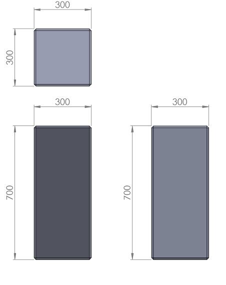 17. Стеклопластиковая форма столбика СД17