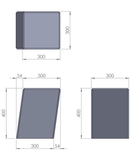 2. Стеклопластиковая форма столбика СД2