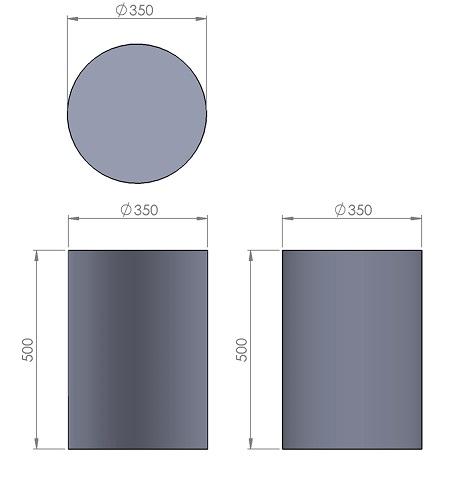 5. Стеклопластиковая форма столбика СД5