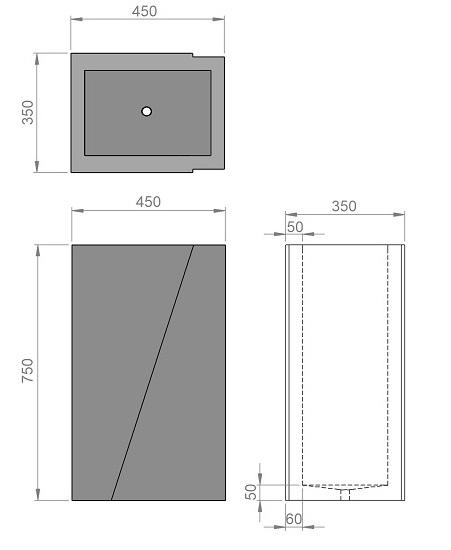 10. Стеклопластиковая форма урны У10