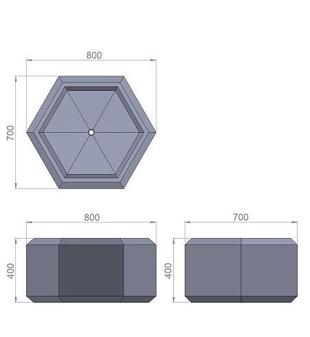 13. Стеклопластиковая форма В13